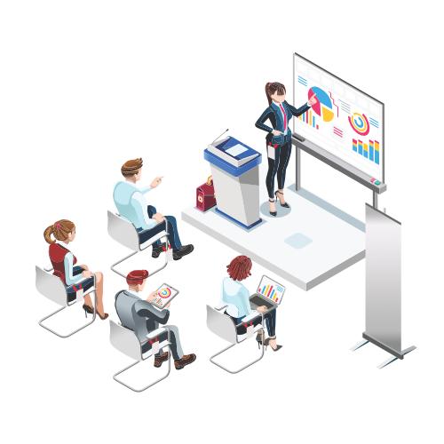 Publikum in Präsentationen aktiv einbinden!