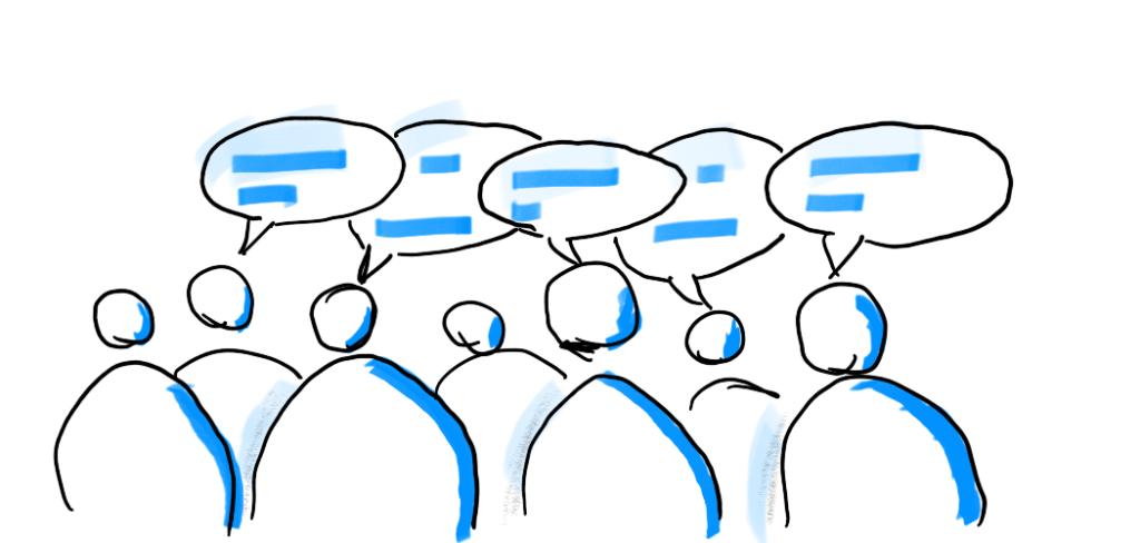 Workshop Methoden - Publikum eine Stimme verleihen