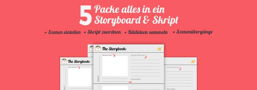 ERklärvideo selbst erstellen - Storyboard und Skript erstellen