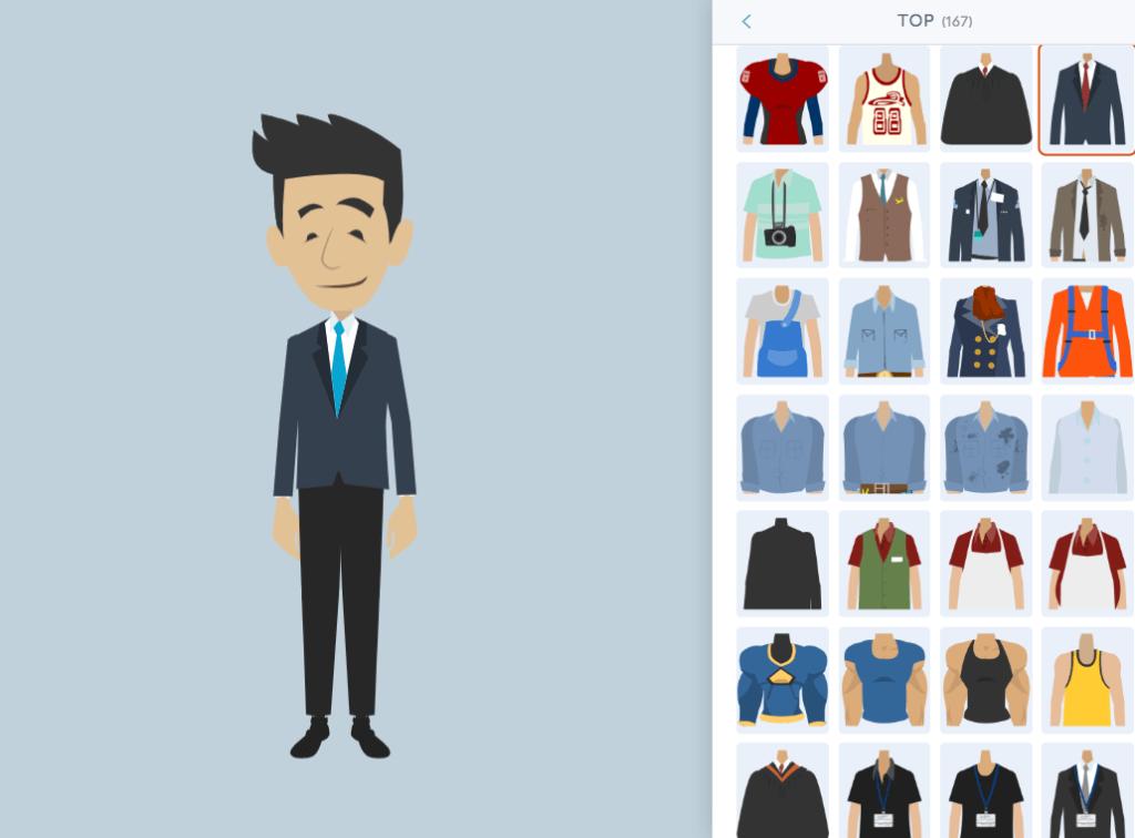 Erklärvideo Software Vyond - eigene charaktere erstellen