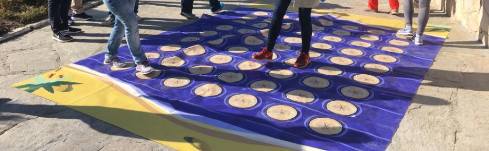 Kooperationsspiele - der magische Teppich