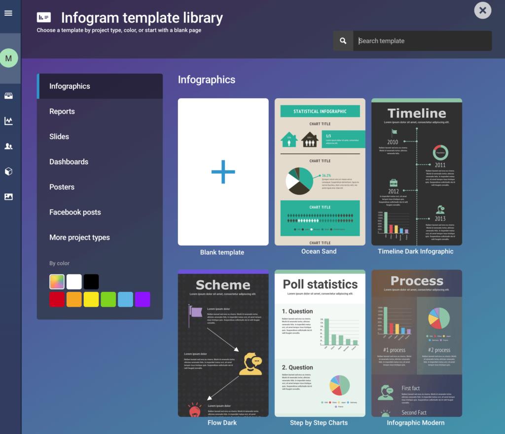 Ein Schaubild erstellen mit Infogram