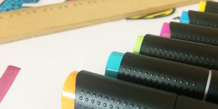 Flipchart Farben