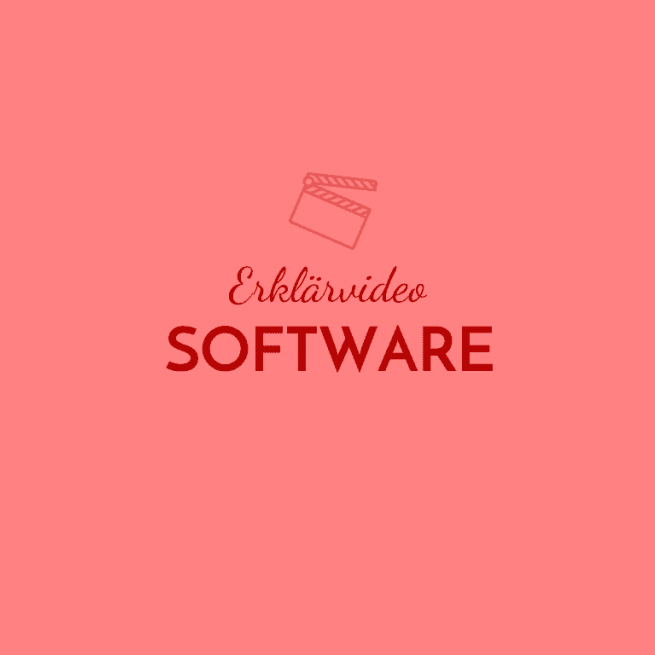 Erklärvideo Software